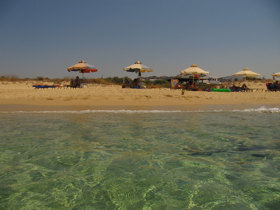 naxos plages